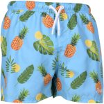 pineapple beachshorts, blue, 2xl,  shorts