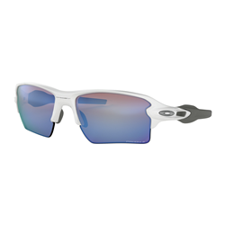 Oakley Flak 2.0 XL Polished White/Prizm Deep Water Polarized