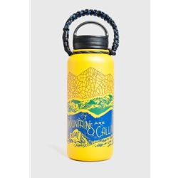 United By Blue Mtns Are Calling 32Oz Stainless Steel Bottle