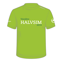 Craft Vansbrohalvsim 2019 T-Shirt Dam