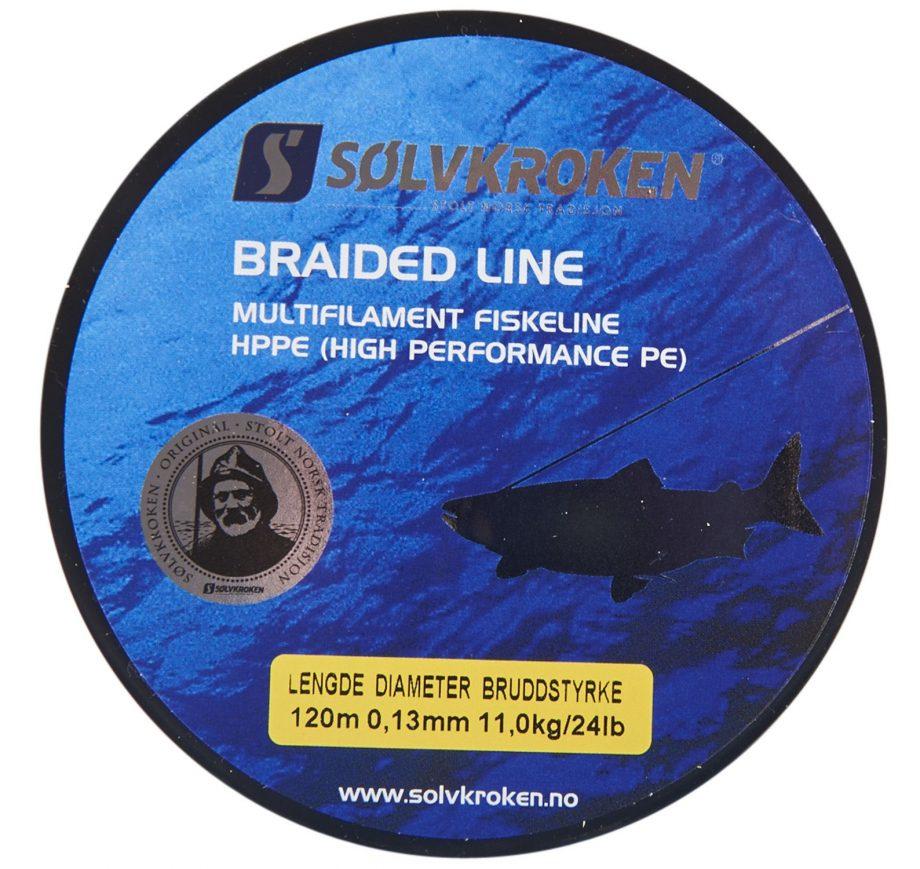 Sölvkroken Braided Line 120m