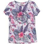 Pink Kakadua Tee Jr, White, 100,  T-Shirts