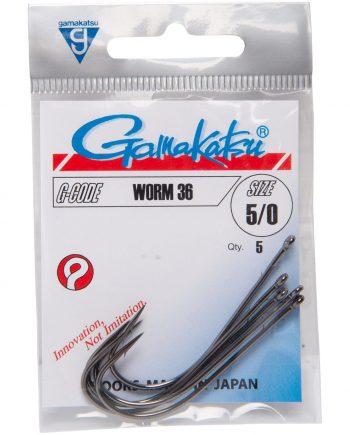 Gamakatsu Hook Worm 36  /0