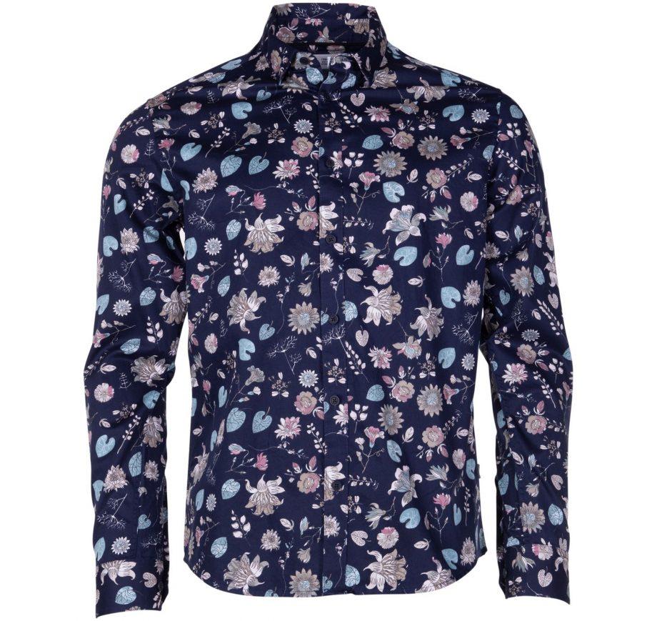 Shirt - Tyler Ls Bu Flower