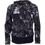 Alpha Aop Sweat Jacket Fl B, Puma Black, 104,  Puma