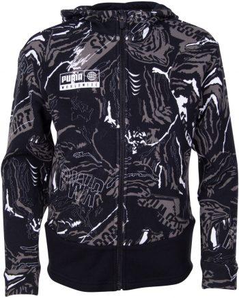 alpha aop sweat jacket fl b