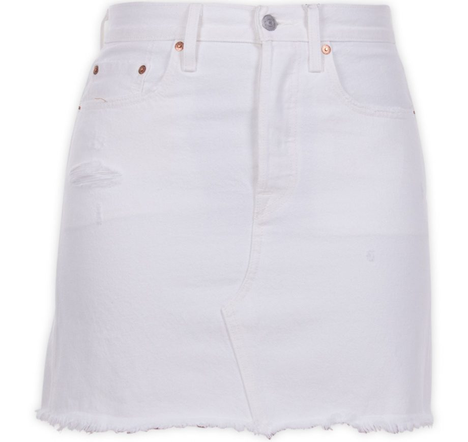 hr decon iconic bf skirt pearl