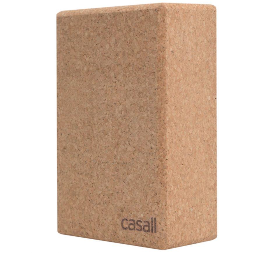 yoga block natural cork