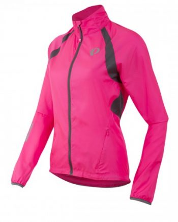 Cykeljacka Pearl Izumi Elite Barrier Dam screaming pink/smoked