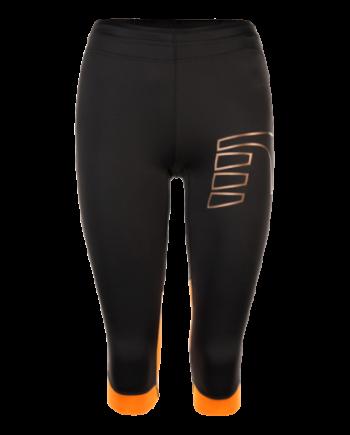Knätights Newline Iconic  Power Knee Tights - Soft Black - Dam Storlek XL