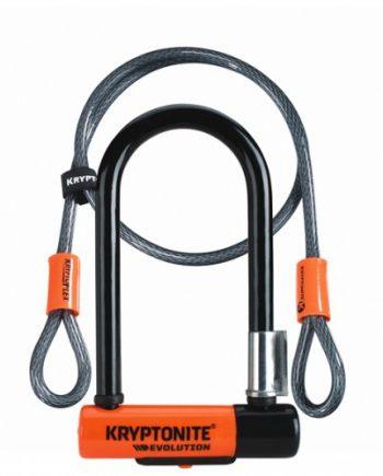Cykellås Kryptonite Bygellås med kabel Evo Mini7