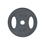 Viktskiva Casall Weight plate grip 1x2.5kg - Black