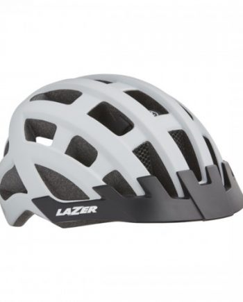 Cykelhjälm Lazer Petit DLX 50-57cm Matt Vit