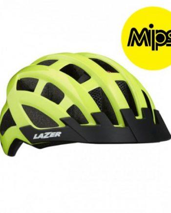 Cykelhjälm Lazer Petit DLX 50-57cm Flash Gul MIPS
