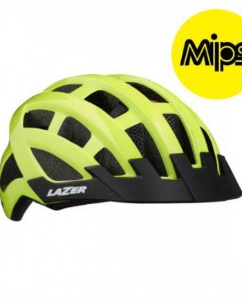 Cykelhjälm Lazer Comp DLX 54-61cm Flash Gul MIPS