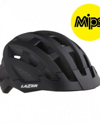 Cykelhjälm Lazer Comp DLX 54-61cm Mattsvart MIPS
