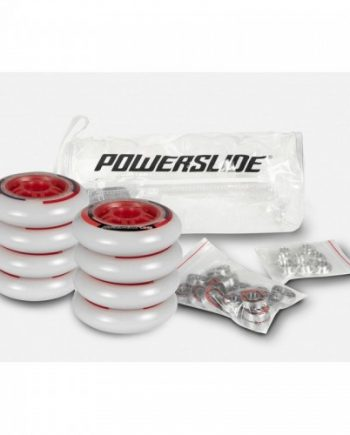 Inlineshjul Powerslide One 100mm/82A 8-pack inkl. lager+spacer