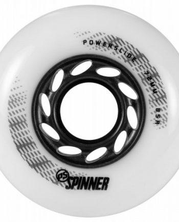 Inlineshjul Powerslide Spinner 72mm/85A Vit 4-pack