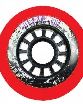Inlineshjul Powerslide Hurricane 76mm/85A Röd 4-pack