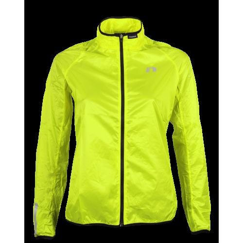 Vindjacka Newline Windpack Jacket - Neon Yellow Storlek XS