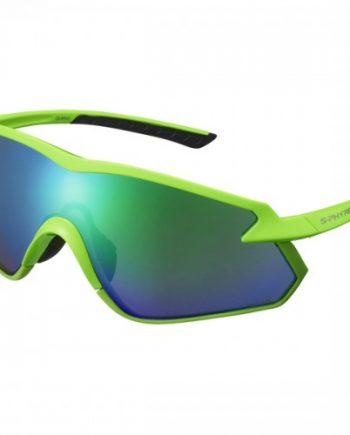 Cykelglasögon Shimano Lins Sphyre X Polariserad Optimal Grön MLC