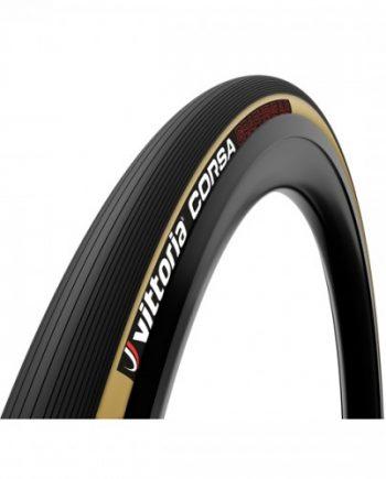 Cykeldäck Racer Vittoria Corsa brun/svart 23-622/700x23c Fold G2