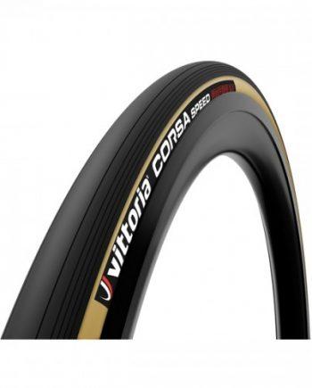 Tubdäck Racer Vittoria Corsa Speed brun/ svart 23-622/700x23c G2 tag