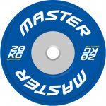 Viktskiva Competition Bumpers Plate 20 kg - Master