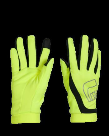 Löparhandskar Newline Thermal Gloves - Neon Yellow