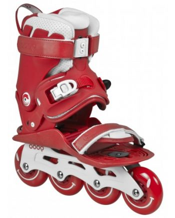 Inlines Powerslide DOOP Classic - red / white 4x80mm