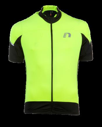 Cykeltröja kortärmad Newline Bike Stretch Jersey - Black-Yellow