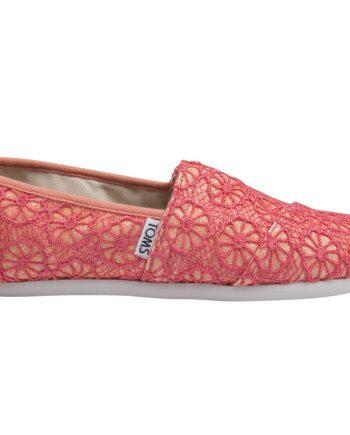 Coral Crochet Glttr Yt
