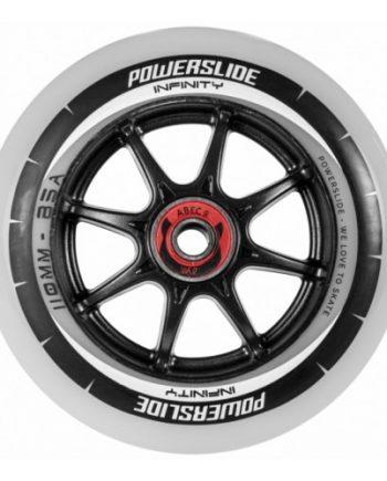 Inlineshjul Powerslide Infinity 110 mm RTR Inkl. Abec 9 lager