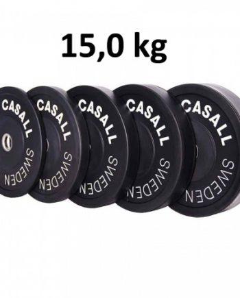 Casall Pro Viktskiva Bumper Plate 15