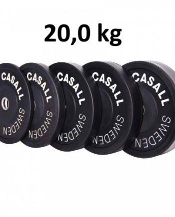 Casall Pro Viktskiva Bumper Plate 20