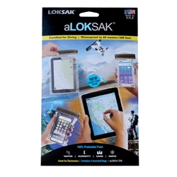 aLoksak Smartphone L-XL/Surfplatta/Pass Vattentäta påsar 4-p