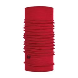 Buff Lightweight Merino Wool Solid Red