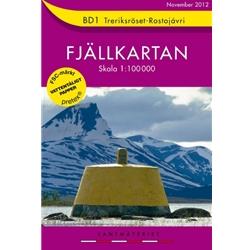 Norstedts BD1 Treriksröset-Råståjaure