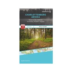 Norstedts Blad 15 Charlottenberg-Arvika 1:50 000