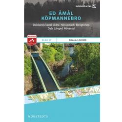 Norstedts Blad 17 Ed-Åmål-Köpmannebro 1:50 000