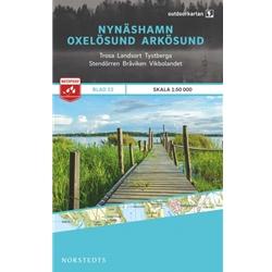 Norstedts Blad 22 Nynäshamn-Oxelösund-Arkösund 1:50 000