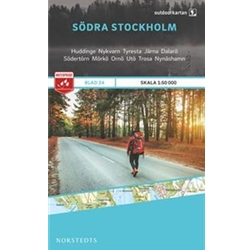 Norstedts Blad 24 Södra Stockholm 1:50 000