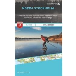 Norstedts Blad 26 Norra Stockholm 1:50 000