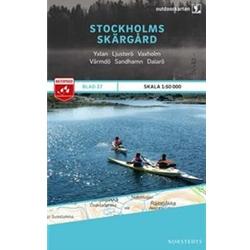 Norstedts Blad 27 Stockholms Skärgård 1:50 000