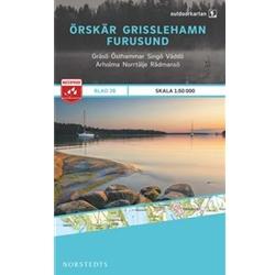 Norstedts Blad 28 Örskär- Grisslehamn-Furusund 1:50 000