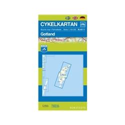 Norstedts Cykelkartan Blad 11 Gotland