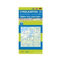 Norstedts Cykelkartan Blad 14 Vättern Runt
