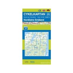 Norstedts Cykelkartan Blad 15 Nordöstra Småland
