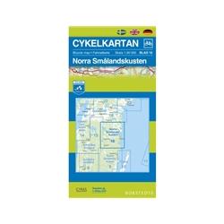 Norstedts Cykelkartan Blad 16 Norra Smålandskusten