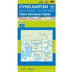 Norstedts Cykelkartan Blad 25 Östra Värmland/Närke